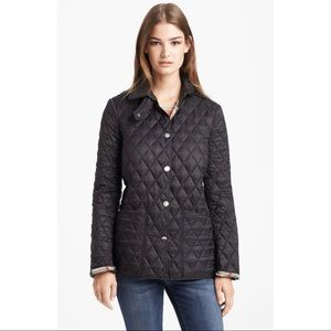 Burberry Brit Pirmont Quilted Heritage Jacket